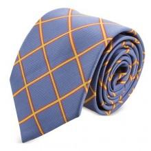 Corbata Bandera de España azul. Modelo 07