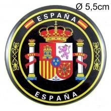 Monedero mediano bandera España. Modelo 24