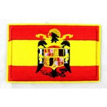 Parche bandera España Águila San Juan. Modelo 43