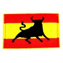 Parche bandera España Toro. Modelo 50
