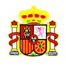 Parche bordado Escudo España. Modelo 51