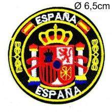 Parche bordado Escudo España. Modelo 54
