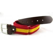 Cinturón elástico bandera España. Modelo 47