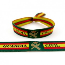 Pulsera Guardia Civil bandera España. Modelo 221