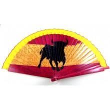 Abanico España Toro. Modelo 013