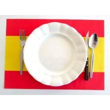 Mantel bandera España individual