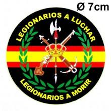 Pegatina Legión Española. Modelo 085