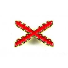 Pin Cruz de Borgoña. Modelo 086