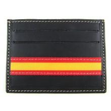 Tarjetero piel bandera España. Modelo 521