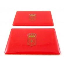 2 Pegatinas bandera Navarra. Modelo 091