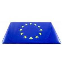 Pegatina bandera Unión Europea. Modelo 119