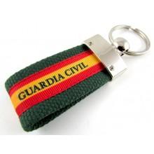Llavero bandera España Guardia Civil. Modelo 609
