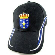 Gorra bandera y escudo Galicia. Modelo 062