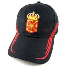 Gorra bandera y escudo Navarra Modelo 063