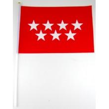 Bandera de mano Comunidad de Madrid
