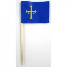 50 Palillos bandera Asturias