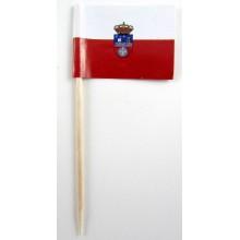 50 Palillos bandera Cantabria