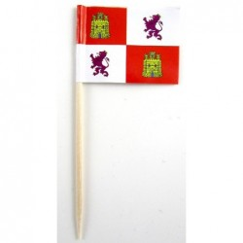 50 Palillos bandera Castilla León