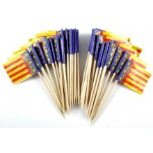 Pendientes bandera España