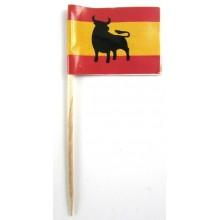 50 Palillos bandera España Toro