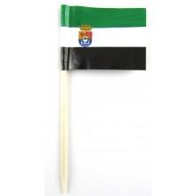 50 Palillos bandera Extremadura