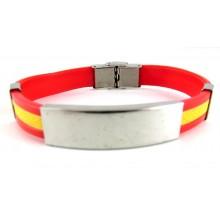 Cinturón elástico bandera España. Modelo 71