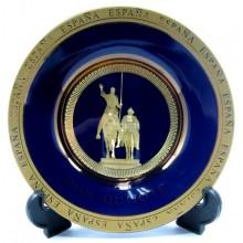 Plato azul. España Quijote