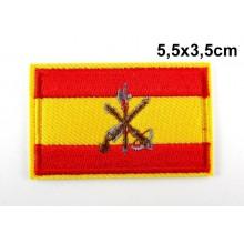 Parche bandera España Legión. Modelo 058