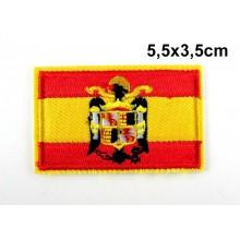 bandera de españa aguila san juan