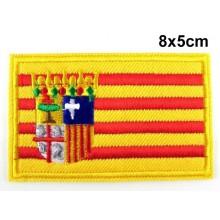 Parche bandera Aragón. Modelo 064