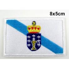 Parche bandera Galicia. Modelo 067