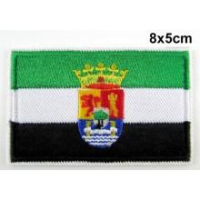 Parche bandera Extremadura. Modelo 068