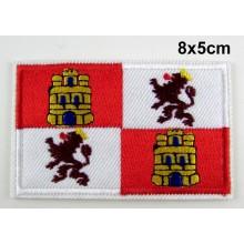 Parche bandera Castilla y León. Modelo 069