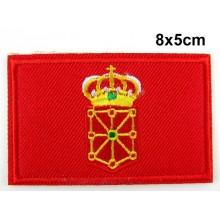 Parche bandera Navarra. Modelo 071