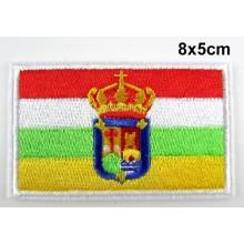 Parche bandera La Rioja. Modelo 073