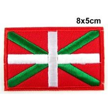 Parche bandera Euskadi. Modelo 075