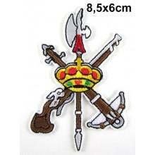 Parche escudo Legión. Modelo 078