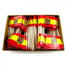 200 Palillos bandera España Águila San Juan