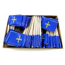 200 Palillos bandera Asturias.
