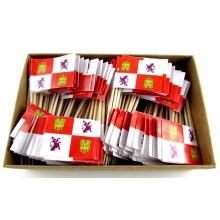 200 Palillos bandera Castilla León