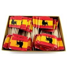 200 Palillos bandera España Toro.