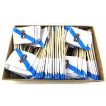 200 Palillos bandera Galicia.