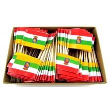 200 Palillos bandera La Rioja.