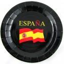 Cinturón elástico bandera España marino. Modelo 44