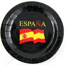6 Platos bandera España