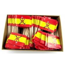 200 Palillos bandera España Legión.