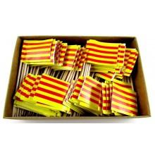 200 Palillos bandera Aragón.