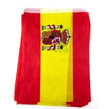 Guirnalda 5m banderas España de tela