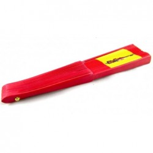 Abanico madera bandera España. Modelo 014