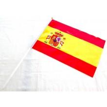 Pegatina relieve bandera España. Modelo 40